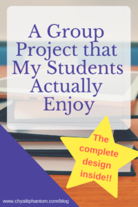 A Group Project that My Students Actually Enjoy